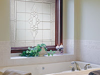 Decorative Glass Windows For Bathrooms