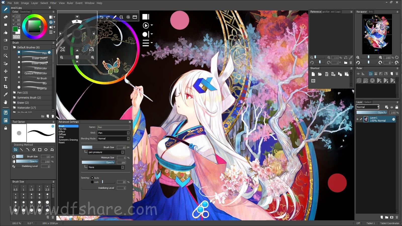 Software ringan dan gratis membuat anime secara gratis