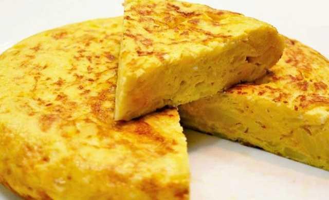 Tortilla de patatas, rápida y fácil