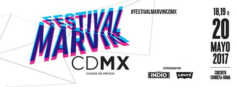 Cartel final Festival Marvin 2017