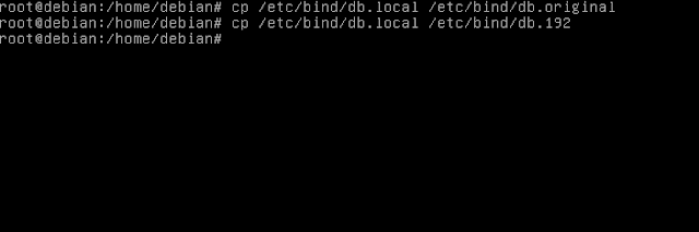 Setting DNS Server di debian