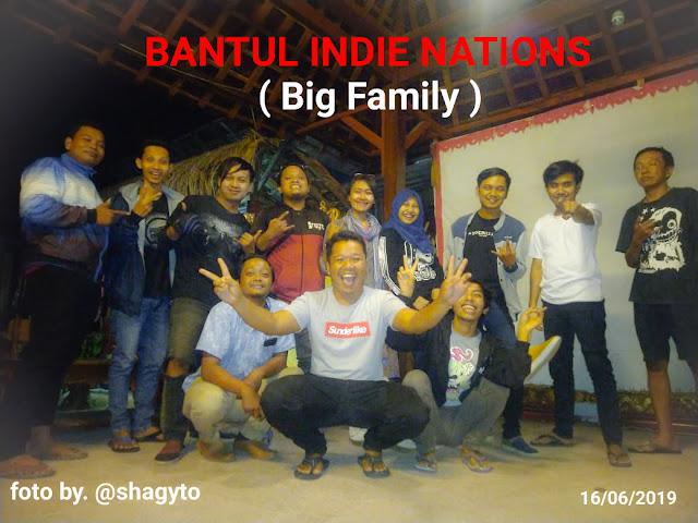 Syawalan Trah Keluarga Besar Bins ( Bantul Indie Nations ) 2019 di Angkringan Lombok Abang