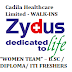 "Cadila Healthcare Limited - WALK-IN INTERVIEW FOR ""WOMEN TEAM"" – B.SC / DIPLOMA/ ITI FRESHERS"