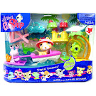 Littlest Pet Shop 3-pack Scenery Hermit Crab (#859) Pet