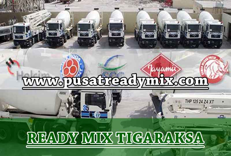 Harga Beton Ready mix Tigaraksa 2020