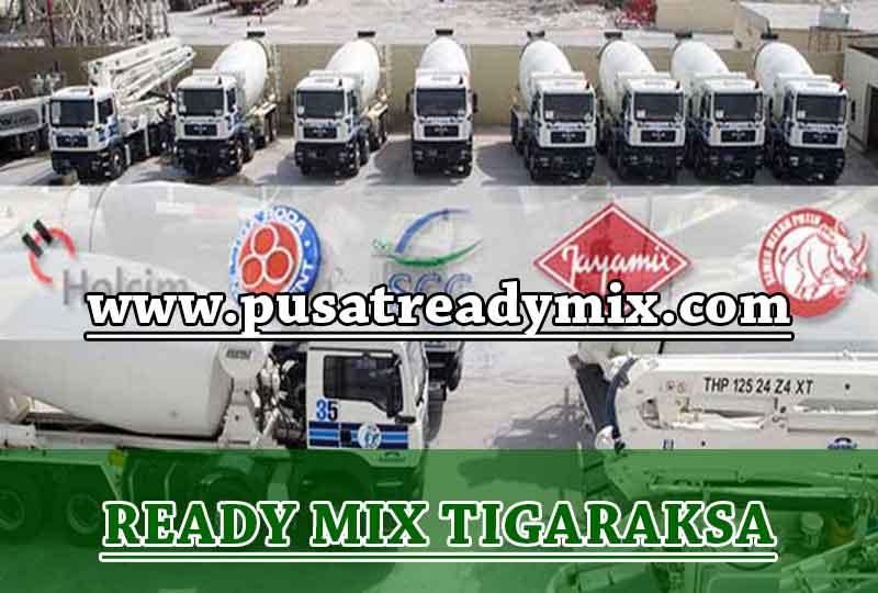 Harga Beton Ready mix Tigaraksa