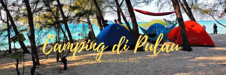 paket wisata camping di pulau