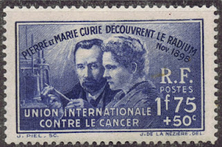 France - 1938  Marie & Pierre Curie/Discovery of Radium