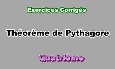 Exercices Corrigés Sur Théorème de Pythagore 4eme en PDF