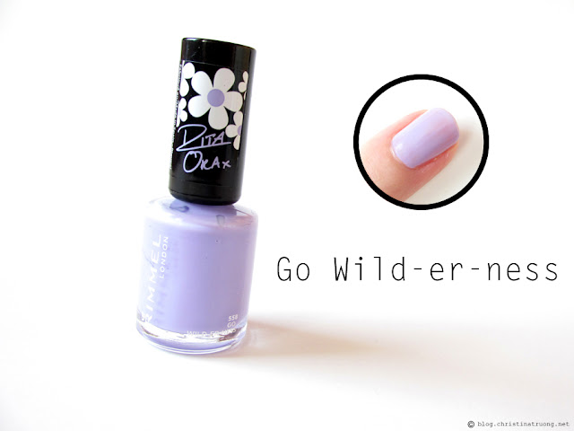 558 Go Wild-er-ness - Rimmel London 60 Seconds Super Shine Nail Polish by Rita Ora Collection