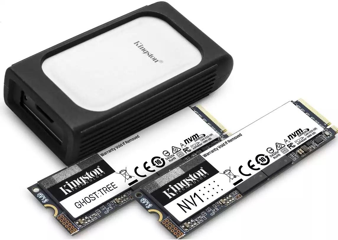 Kingston New NVMe SSD Lineup