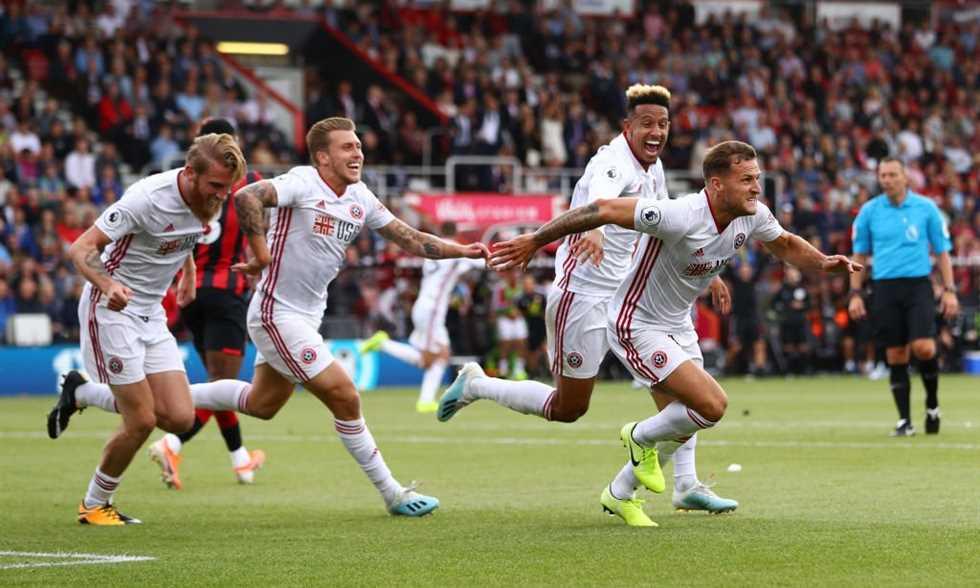 نتيجة مباراة شيفيلد يونايتد وكريستال بالاس بتاريخ 18-08-2019 الدوري الانجليزي