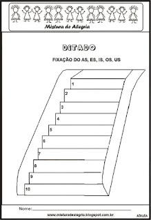 Treino ortográfico es de escada
