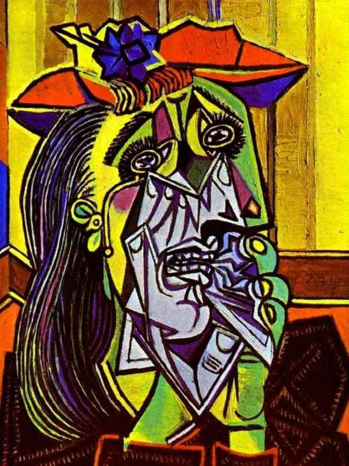 Пикассо «Плачущая женщина»