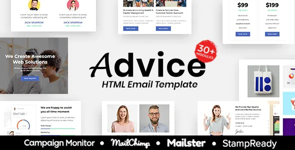 Advice Multipurpose Responsive Email Template