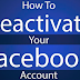 How to Deactivate My Facebook Account