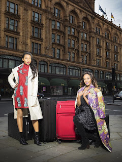 DJ Cuppy and Temie Otedola to UK's Daily Mail i live to spend time in uk