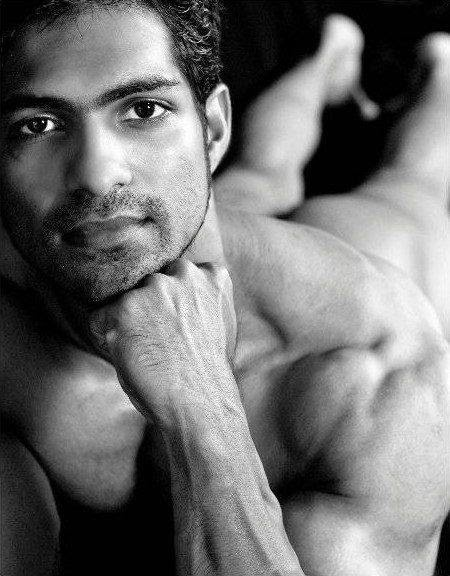 Naked indian male models