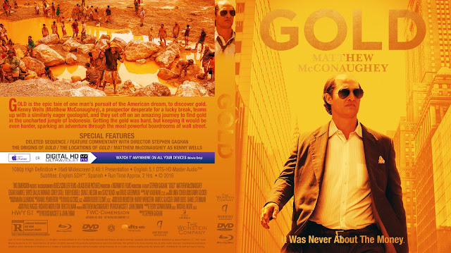 Gold Bluray Cover