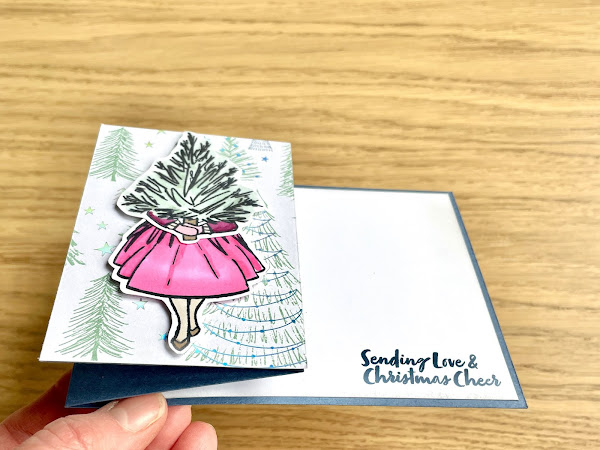 Delivering Cheer with Z Fold Cards