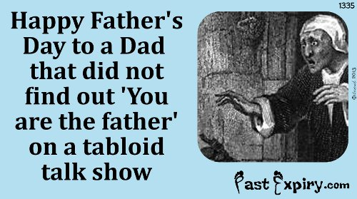 Cartoon about Father's Day, television