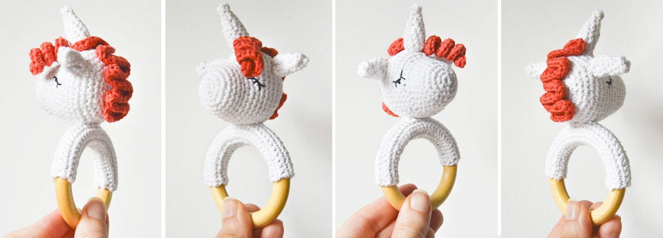 Mordedor unicornio