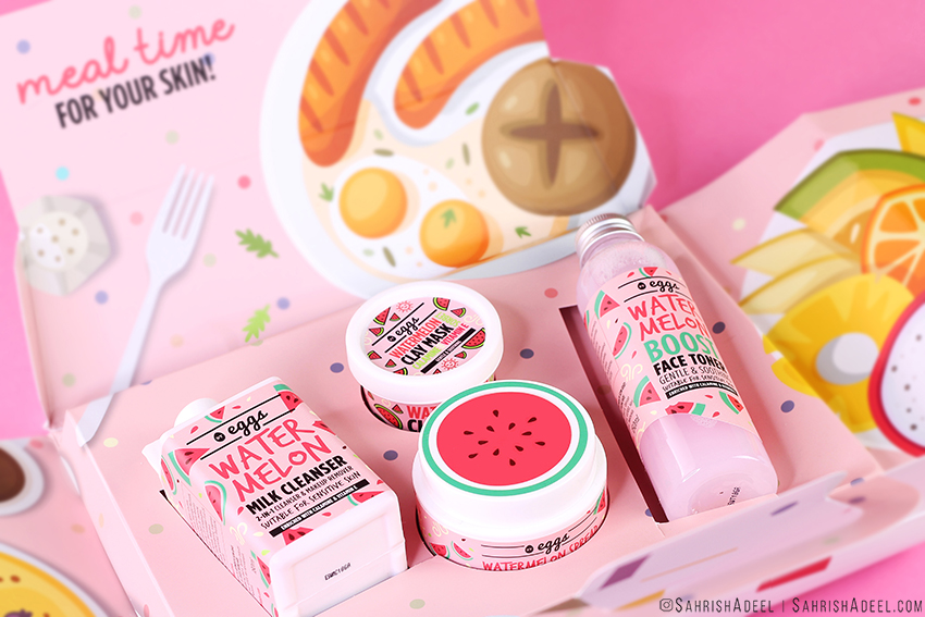 Meal Time For Your Skin | Watermelon Skincare for All Skin Types including Sensitive Skin - By Eggs