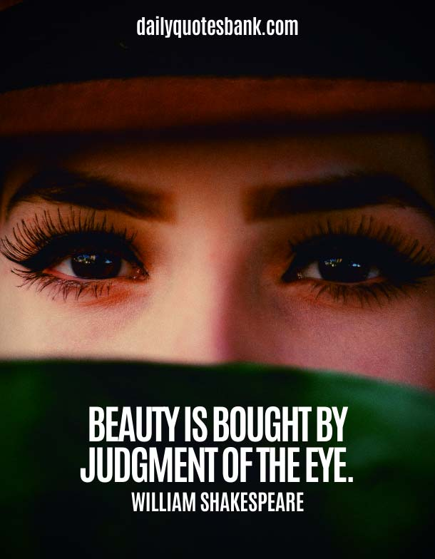 Being Simple Beauty Quotes About Eye
