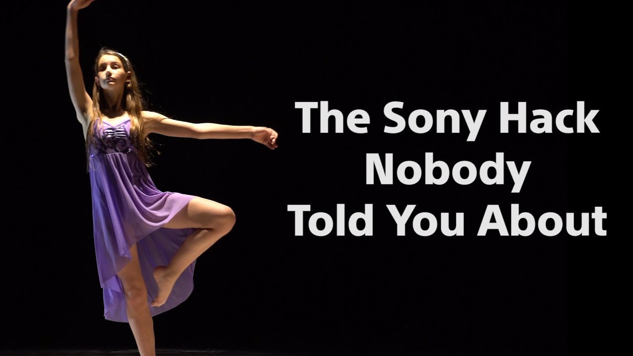 The SONY Camera Hack Nobody Told You About