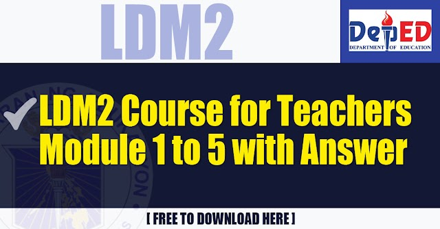 LDM2 - Module 1 to 5 with Answer | Free Download