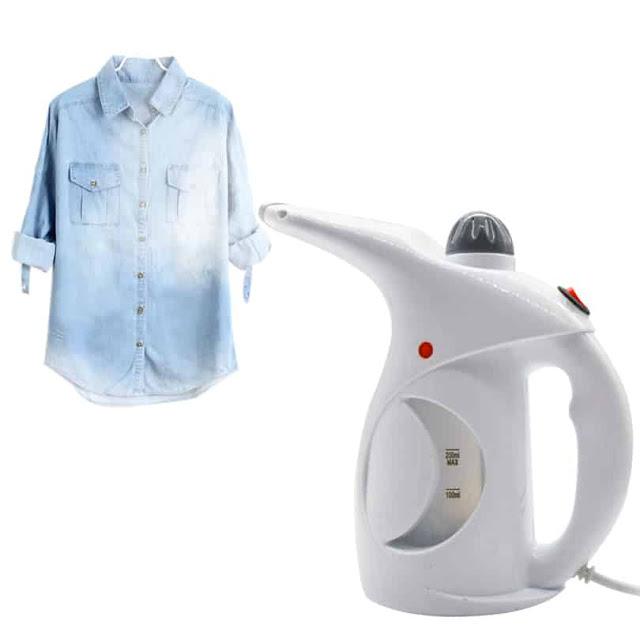 مكواة البخار المحمولة  2في1 مكواة ملابس بالبخار + جهاز تعقيم