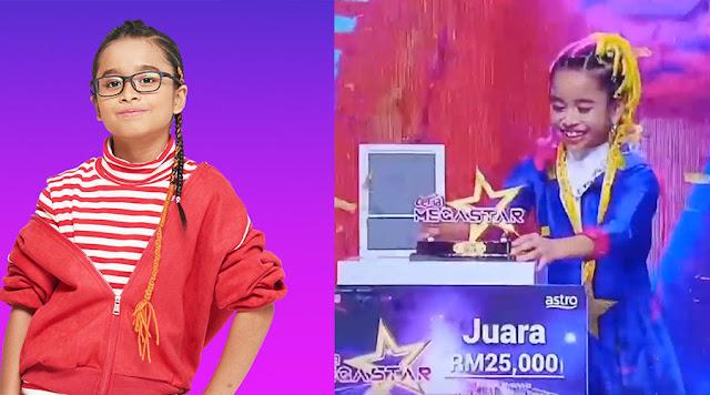 kowachee Dinobat Sebagai Juara Ceria Megastar 2020