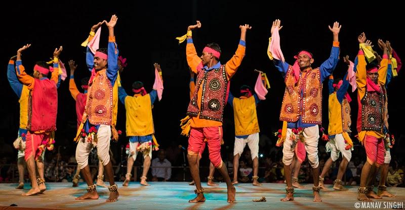 Vasava Holi Folk Dance Gujrat