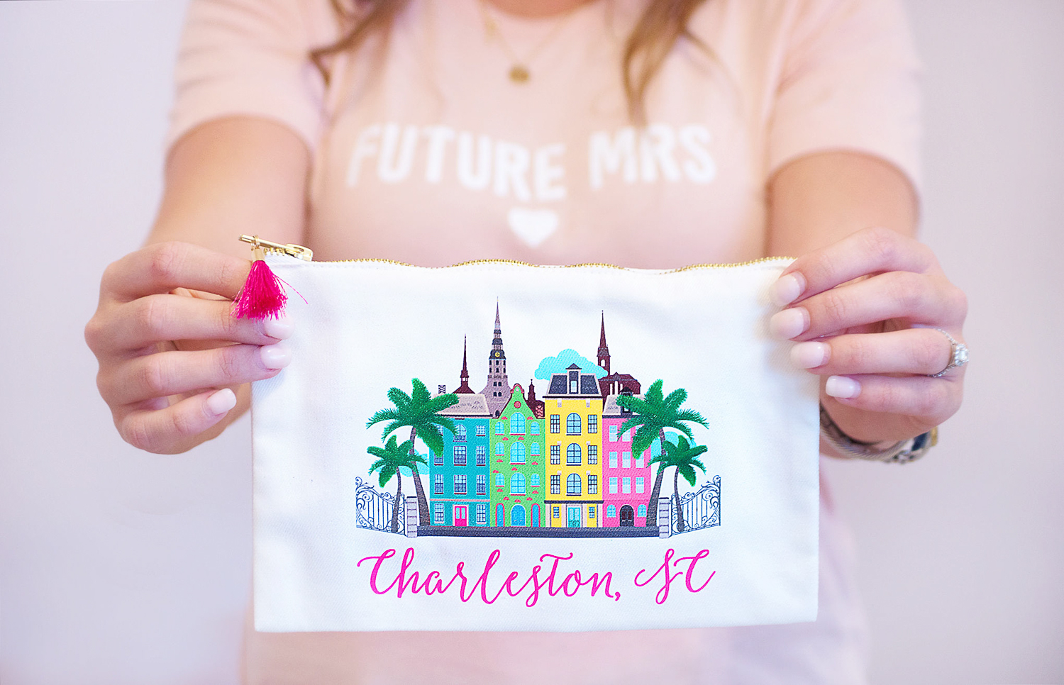 Charleston Cosmetic Bag - Chasing Cinderella