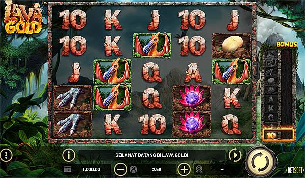 Main Gratis Slot Indonesia - Lava Gold Betsoft
