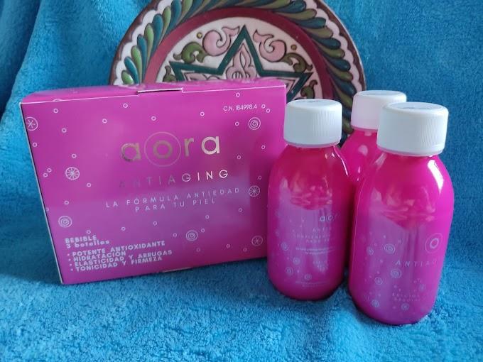 """""""aora  ANTIAGING"""", mucho más que un cosmético, la fórmula antiedad para tu piel"""