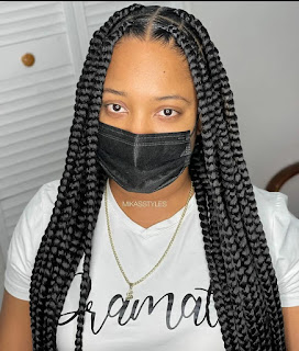 20+ Latest Braids Hairstyles Ladies should Rock for Year 2022