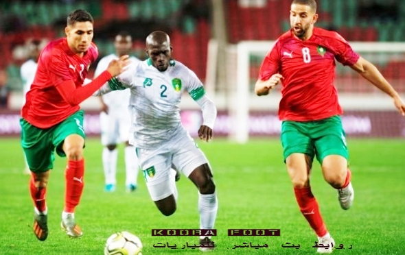 بث مباشر مباراة غانا ضد المغرب الودية.