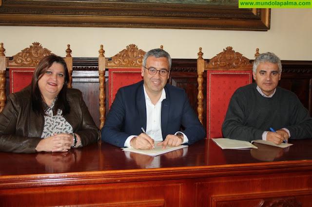 Santa Cruz de La Palma y la Fundación Isonorte acuerdan la instalación de contenedores de recogida de ropa y calzado