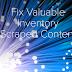 Valuable Inventory Scraped Content Fix-AppTH
