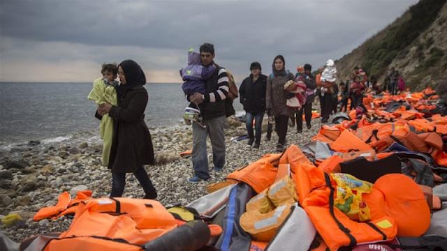 أعلى رقم منذ 2016 .. آلاف اللاجئين يصلون من تركيا إلى الجزر اليونانية