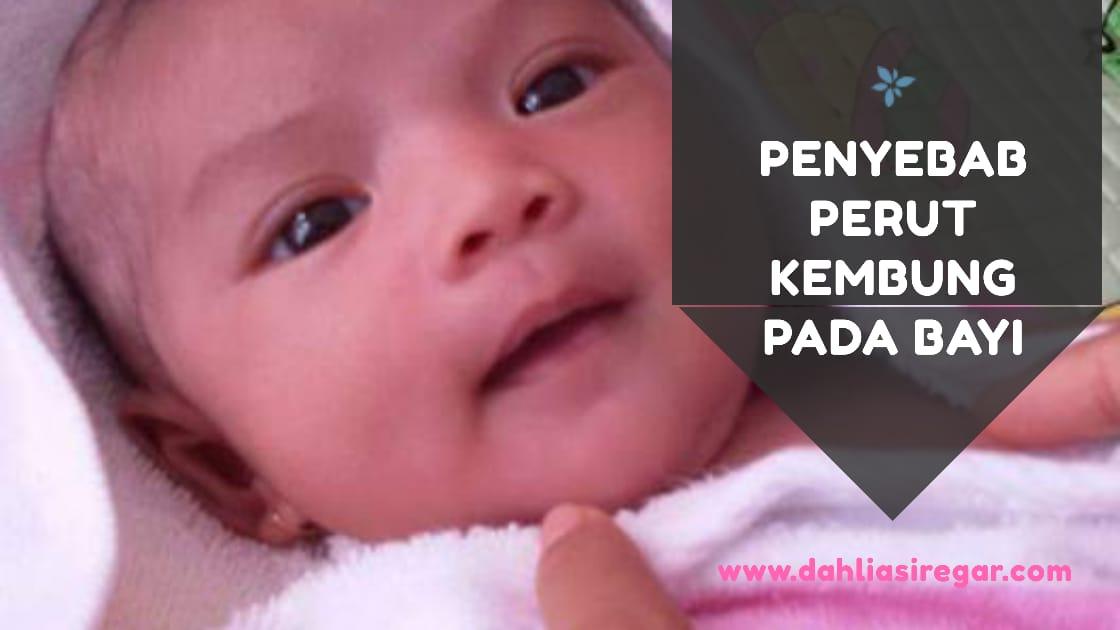 Penyebab perut kembung pada bayi