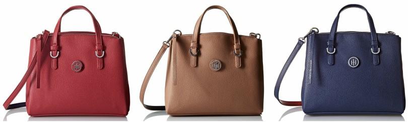 Tommy Hilfiger Mara Convertible Shopper Satchel Bag $60 (reg $118)