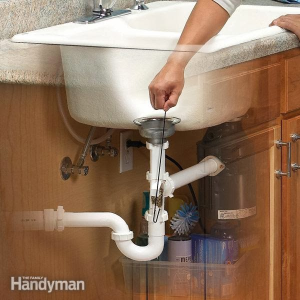 How To Fix A Backed Up Kitchen Sink