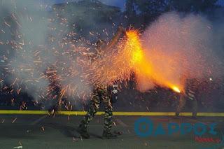 από το σαϊτοπόλεμο της Καλαμάτας - Βίντεο