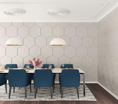 Molduras Decorativas Gaudi Ambiente Moderno