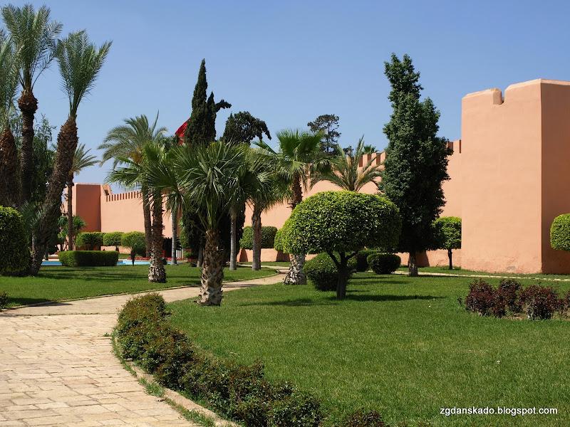 Marrakesz - Mury medyny