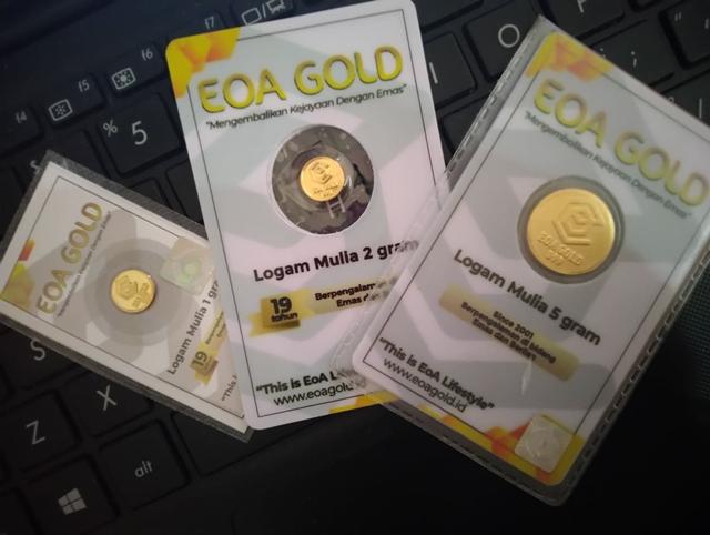 Emas, Untuk Tabungan Jangka Panjang