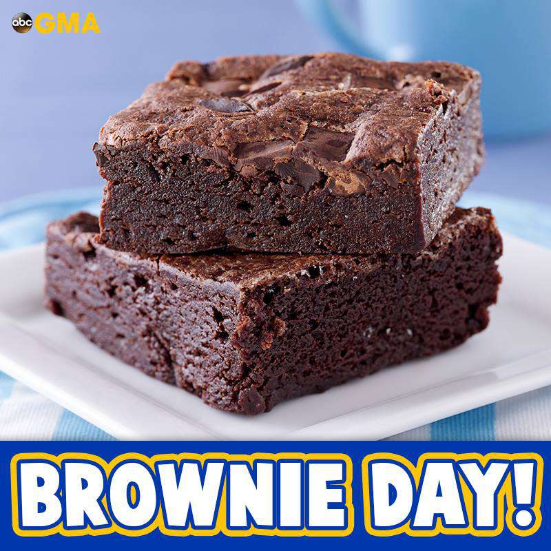 National Brownie Day Wishes Beautiful Image